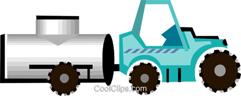 tractor, farm equipment, wine industry Royalty Free Vector Clip Art illustration vc005778