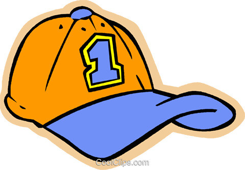 children at play, kids, baseball hat Royalty Free Vector Clip Art illustration vc006211