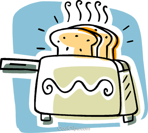 toaster Royalty Free Vector Clip Art illustration vc006312