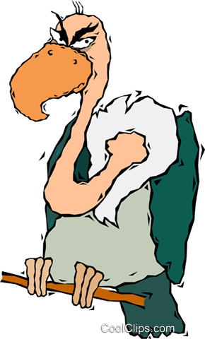 buzzard vulture royalty free vector clip art illustration vc006459 rh search coolclips com