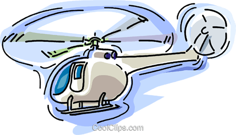 helicopter Royalty Free Vector Clip Art illustration vc006522