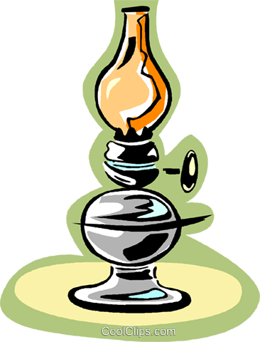lamp Royalty Free Vector Clip Art illustration vc006595