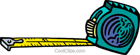 tape measure Royalty Free Vector Clip Art illustration vc006669