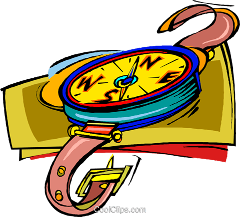 compass, navigation Royalty Free Vector Clip Art illustration vc006773