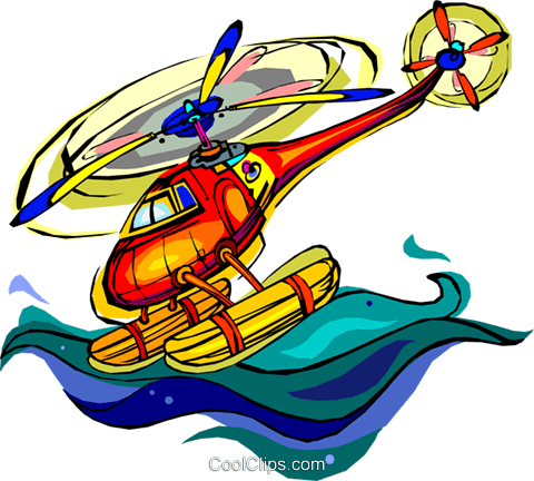 helicopter Royalty Free Vector Clip Art illustration vc006775