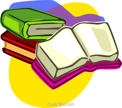 books Royalty Free Vector Clip Art illustration vc006917
