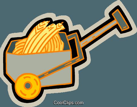 车用谷物 免版税矢量剪贴画插图
