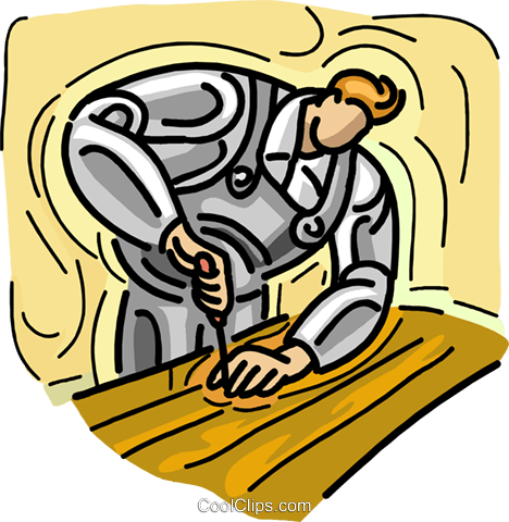 woodworking Royalty Free Vector Clip Art illustration vc007342