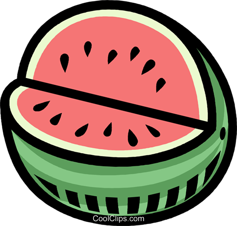 Lieblings Wassermelone, Gemüse, Obst Vektor Clipart Bild -vc007747-CoolCLIPS.com #WA_86