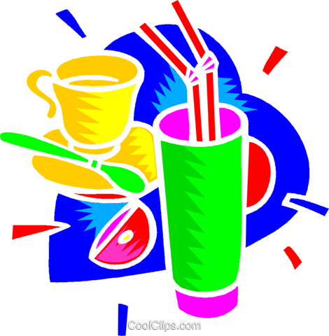 lemonade, iced tea Royalty Free Vector Clip Art illustration