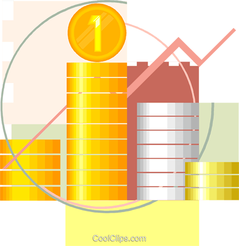 Money, finance, business Royalty Free Vector Clip Art illustration vc007940