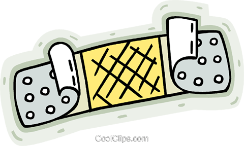 band aid Royalty Free Vector Clip Art illustration vc008053