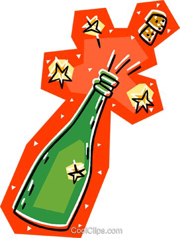champagne Royalty Free Vector Clip Art illustration vc008073