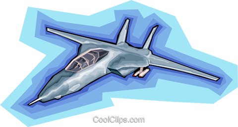 Plane, airplane, aircraft, jet Royalty Free Vector Clip Art illustration vc008173