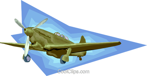 plane, airplane, aircraft Royalty Free Vector Clip Art illustration vc008186