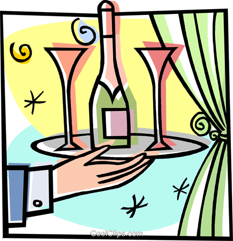 wine, drinks, booze, alcohol Royalty Free Vector Clip Art illustration vc008254
