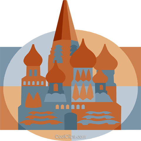 mosque, Russia Royalty Free Vector Clip Art illustration vc008279