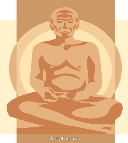 Buddha, Asia Royalty Free Vector Clip Art illustration vc008280