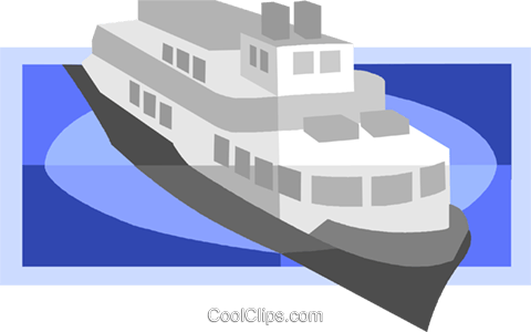 ship Royalty Free Vector Clip Art illustration vc008281