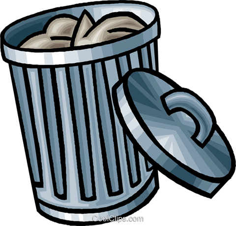 garbage  garbage can royalty free vector clip art trash can clipart black trash can clip art image