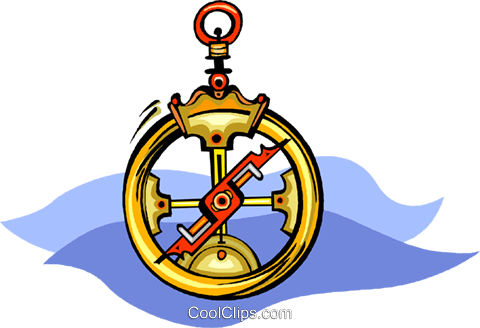 compass Royalty Free Vector Clip Art illustration vc008465