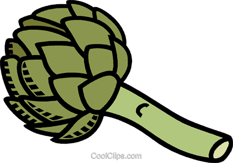 broccoli Royalty Free Vector Clip Art illustration vc008823