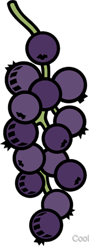 grapes Royalty Free Vector Clip Art illustration vc008834