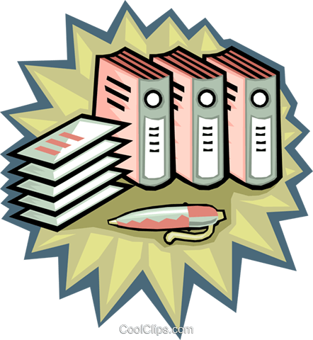 financial records accounting books royalty free vector clip art rh search coolclips com free accounting clipart images