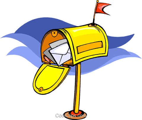 mailbox Royalty Free Vector Clip Art illustration vc009053