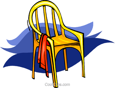 chair Royalty Free Vector Clip Art illustration vc009068
