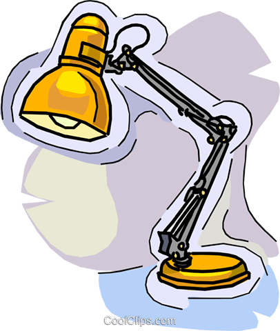 Desk Lamp Royalty Free Vector Clip Art Ilration