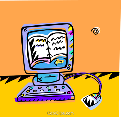 computer workstation Royalty Free Vector Clip Art illustration vc009138