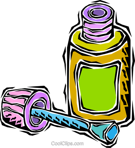 glue bottle Royalty Free Vector Clip Art illustration vc009284