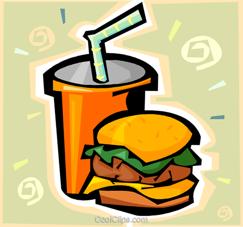 hamburger Royalty Free Vector Clip Art illustration vc009333