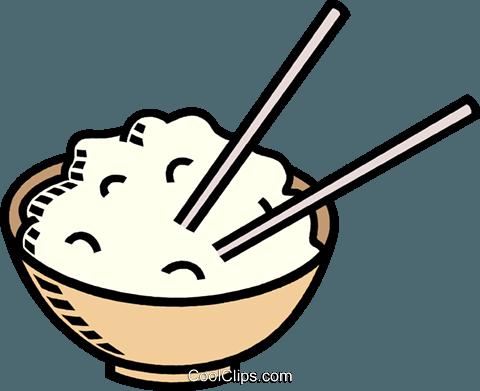 一碗 米饭 免版税矢量 剪贴画 插图 vc009506 C