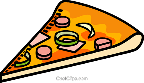 pizza Royalty Free Vector Clip Art illustration vc009514