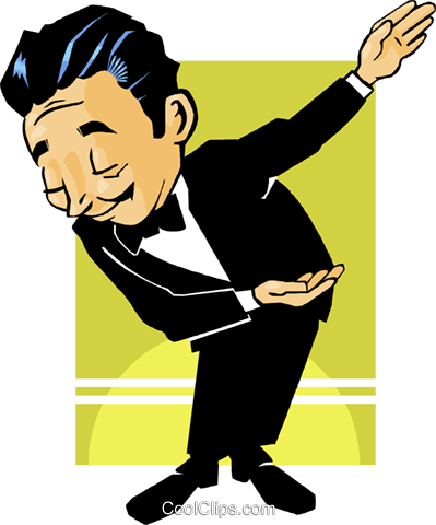 businessman Royalty Free Vector Clip Art illustration vc009533