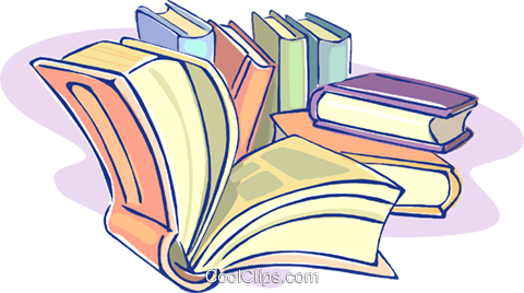 books, education Royalty Free Vector Clip Art illustration vc009607