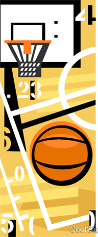 basketball Royalty Free Vector Clip Art illustration vc009728
