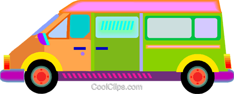 recreational vehicle Royalty Free Vector Clip Art illustration vc009765