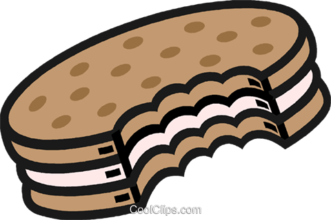 cookie Royalty Free Vector Clip Art illustration vc009976