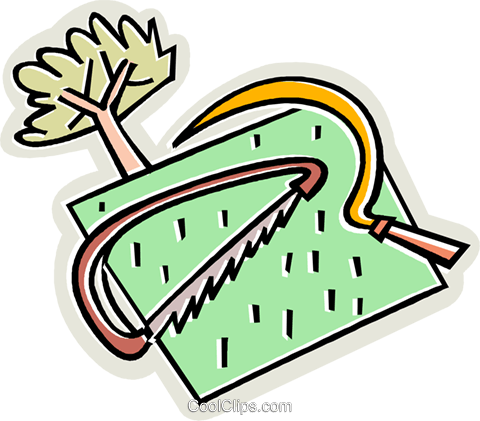 gardening tools Royalty Free Vector Clip Art illustration vc009995