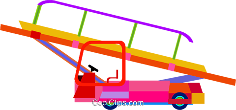 conveyor belt Royalty Free Vector Clip Art illustration vc010095