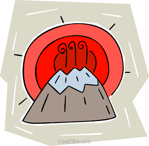 mountains Royalty Free Vector Clip Art illustration vc010291