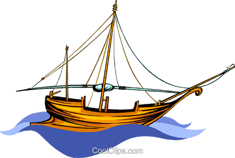 pirate ship Royalty Free Vector Clip Art illustration vc010502