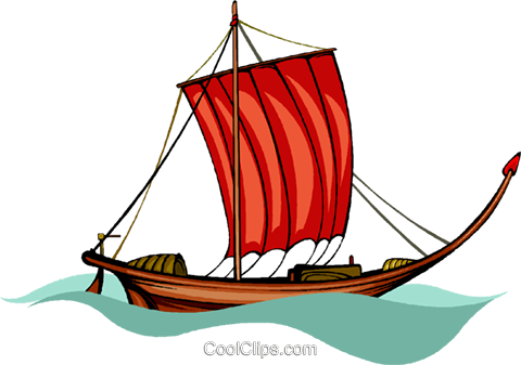 pirate ship Royalty Free Vector Clip Art illustration vc010504