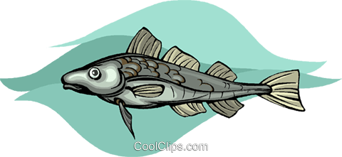 fish Royalty Free Vector Clip Art illustration vc010513