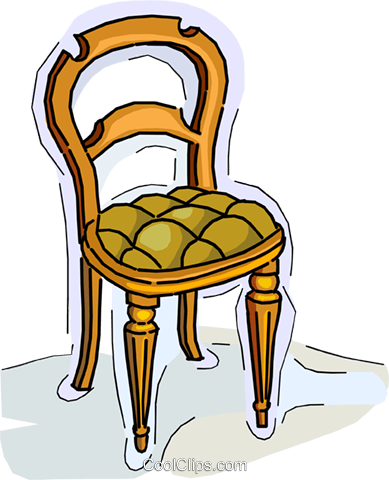 chair Royalty Free Vector Clip Art illustration vc010521