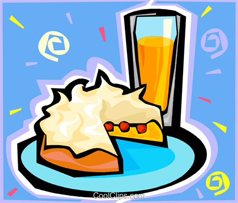 orange juice Royalty Free Vector Clip Art illustration vc010587