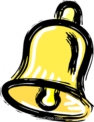 bell Royalty Free Vector Clip Art illustration vc010616